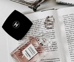 books, chanel, and perfume image