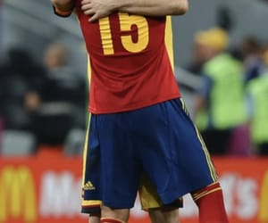 spain, sergio, and world cup image