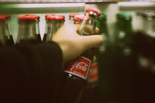 coca cola, grunge, and indie image