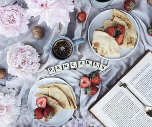 blogger, book, and breakfast image