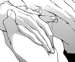 manga, anime, and hands image