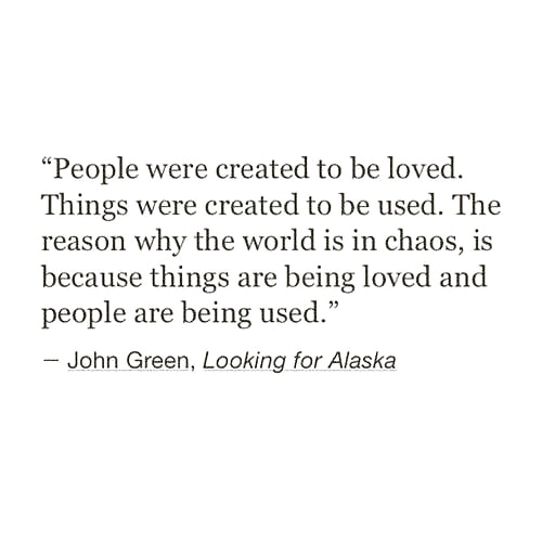 🌼looking for alaska: favorite quotes on We Heart It