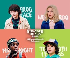 stranger things, dustin, and eleven image