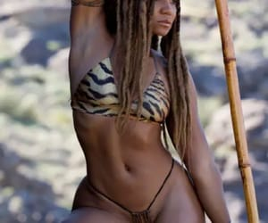 beautiful black woman, nubian queen, and gorgeous black woman image