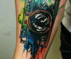 tattos, tatuajes, and tinta blanca image