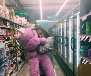 big bear, girls, and teddy bear image
