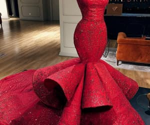 aesthetics, red, and dress image