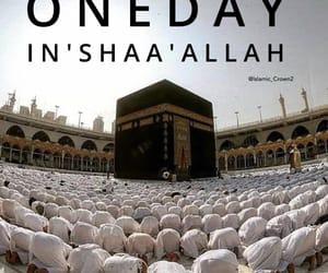 allah, muslim, and hajj image
