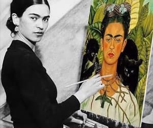 frida kahlo, art, and Frida image