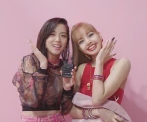blackpink, lisa, and jisoo image
