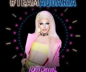 drag queens, aquaria, and rupauls drag race image