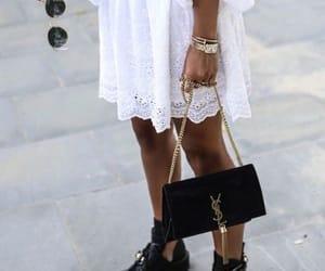 fashion, vogue, and Yves Saint Laurent image