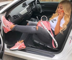 car, outfit, and sneakers image