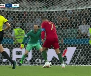 cristiano ronaldo, gif, and gol image