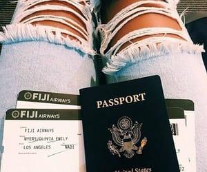 passport and trip image