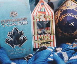 box, candy, and harry potter image