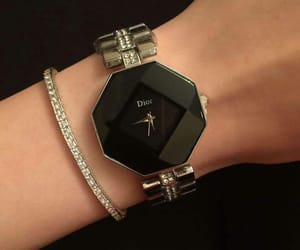 dior, fashion, and watch image