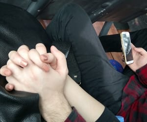 couple, couples, and hands image