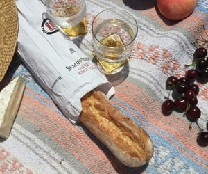 picnic, aesthetic, and bread image