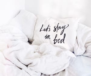 bed, sleep, and relax image