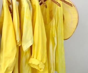 fashion, shirts, and yellow image