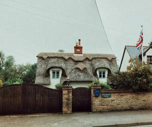 roof, village, and england image