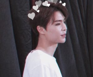 aesthetic, hearts, and johnny image