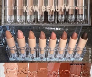 make up and kkw beauty image