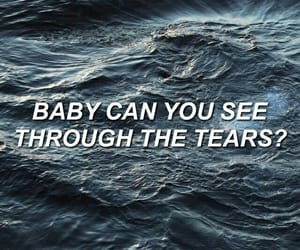 ocean, quotes, and song image