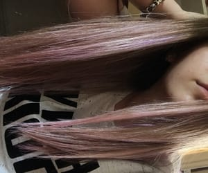 color, hair, and lavender image