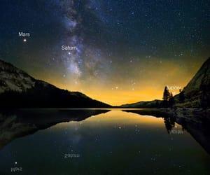 amazing, galaxy, and lake image