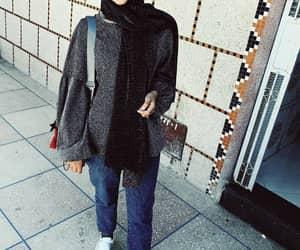 eid, girls, and hijab image