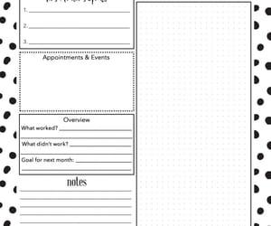 planner and printable image