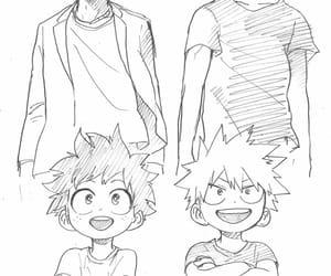 anime, anime boy, and deku image