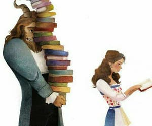 disney, book, and beauty and the beast image