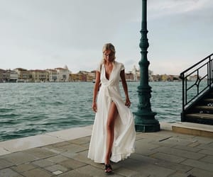 beauty, fashion, and traveling image