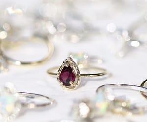 band, gold, and diamond image