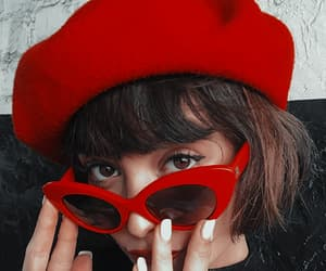 accessories, beret, and fashion image