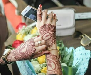 designs, girl, and hands image