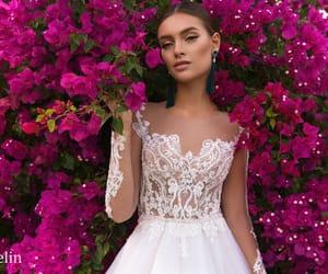 beautiful, beauty, and bride image