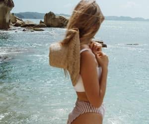 beach, sea, and summer life image