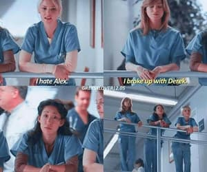 cristina yang, meredith grey, and grey's anatomy image