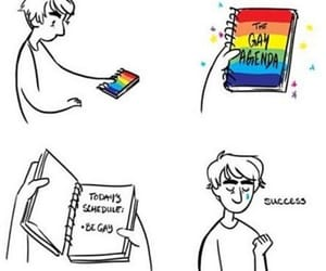 bisexual, lgbt, and gay image