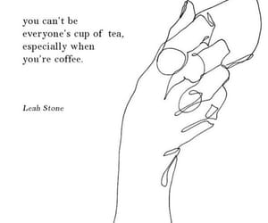 quotes, coffee, and love image