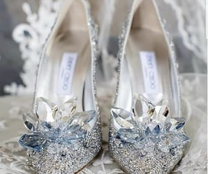 wedding, heels, and shoes image
