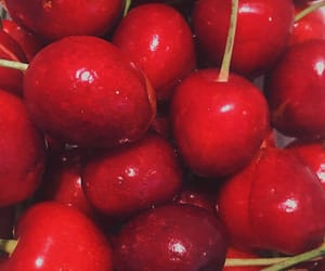 cherries, cherry, and grunge image