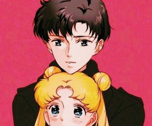 couple, sailor moon, and mamoru chiba image