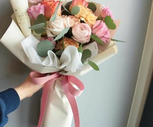 bouquet, floral design, and silk flower image
