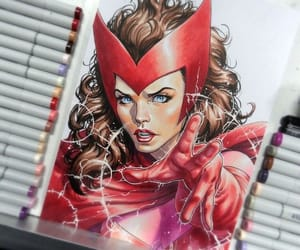 art, Avengers, and drawing image