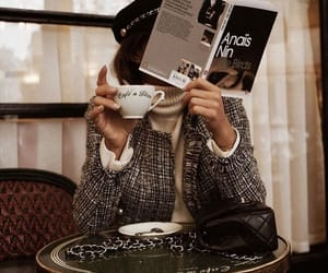 coffee, book, and style image